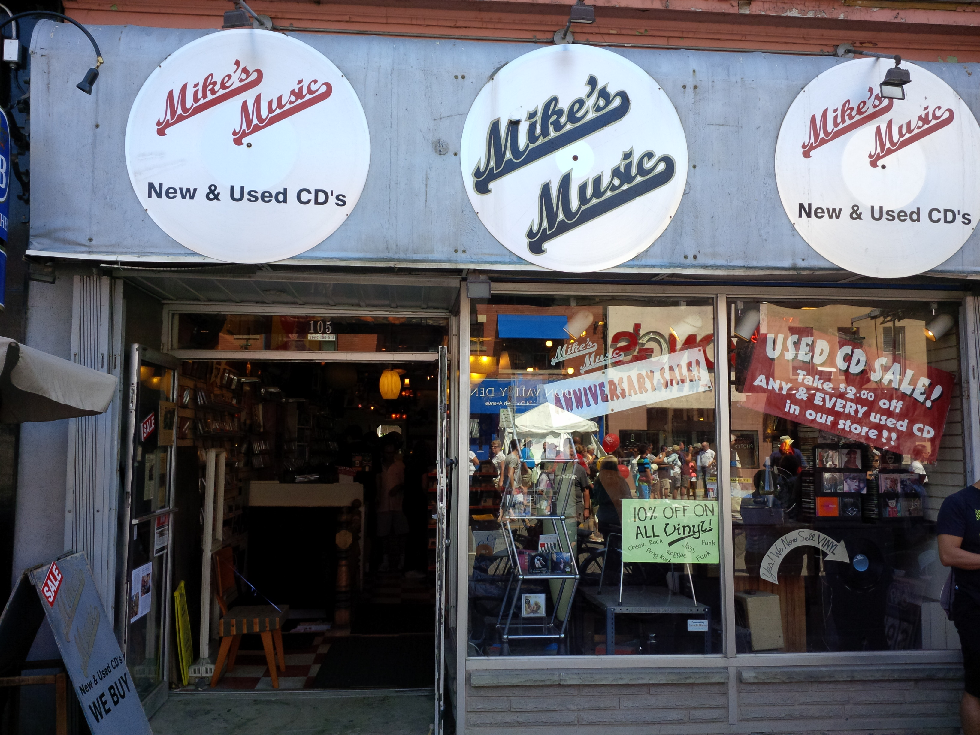 Toronto Record Store, Vinyl, CDs, DVDs, Antiques | Mike's